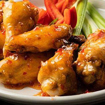 Sweet Red Chili Chicken Wings
