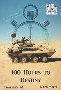 100 Hours to Destiny a book about Desert Storm and the Marines and Corpsmen who were there