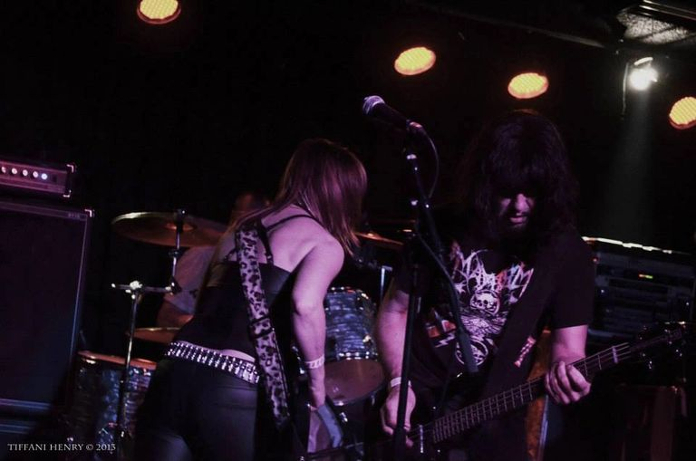 The Flesh Hammers playing live in concert.
