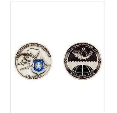 RAF Station Fylingdales Pin Badge