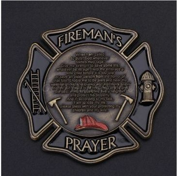 Shop Firefighter Challenge Coins. Great Gift Idea!