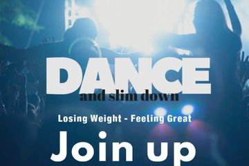 Join danceandslimdown.com today to  lose weight to feel great!