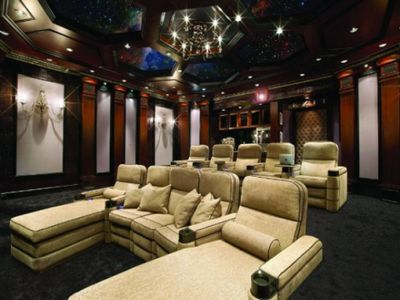 A Home Theater, Movie Room