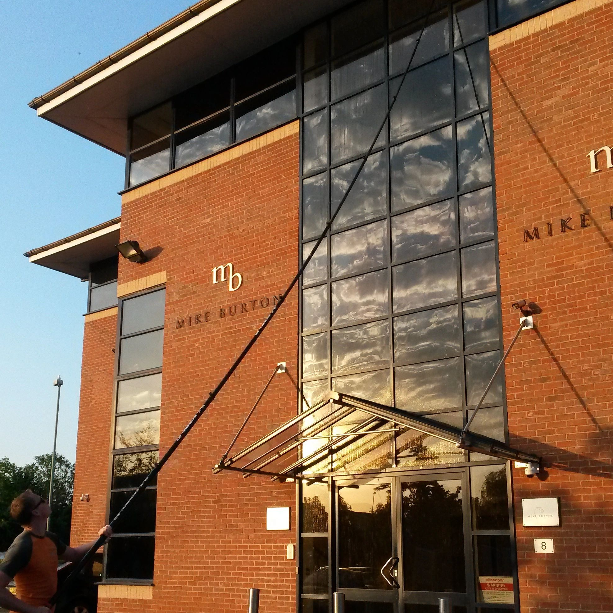 Window cleaning Office window cleaning Commercial window cleaning High window cleaning ecoreach