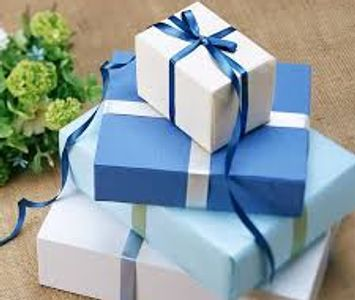 Giftwrapping available.