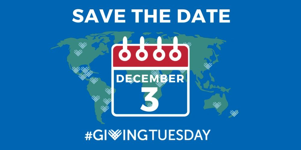 Celebrate this year's Giving Tuesday with us!