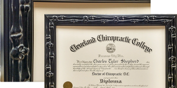 Diploma and awards custom framed and proudly displayed made by Art & Frame, Inc Wichita, Kansas