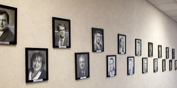 Wichita, Kansas District Attorney portrait wall photo prints and framed by Art & Frame