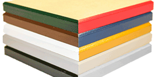 Edge treatment color choices for wood mounted photographs by Art & Frame in Wichita, Ks