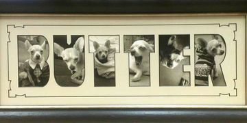 Custom frame examples Art & Frame, Wichita of photo, paintings & prints, special multi open matting.