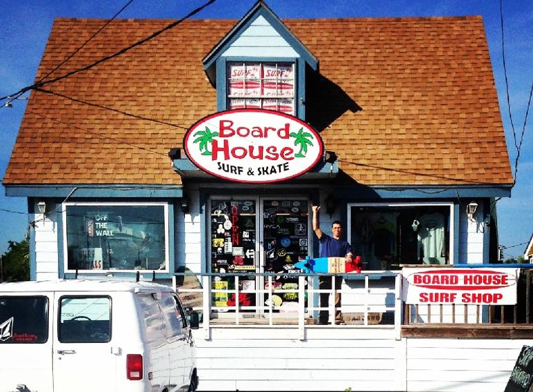 Port Aransas BoardHouse store front.