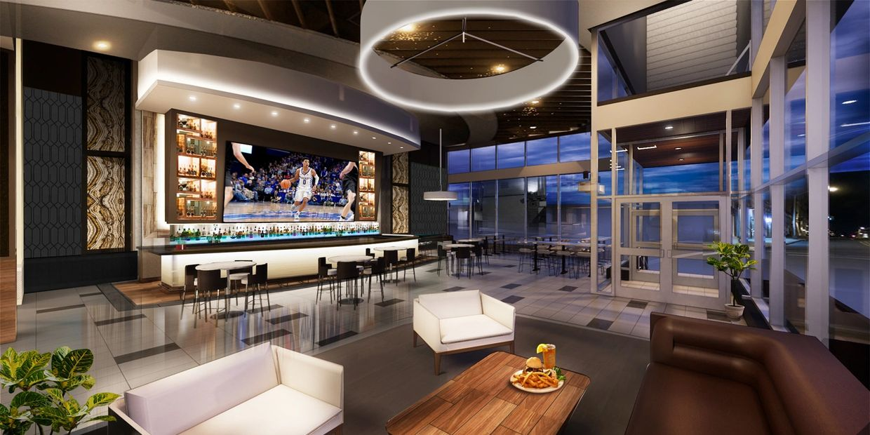 Rendering of the Lexington Project's Bourbon Bar.