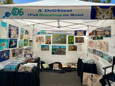 A DeGheest Art Booth