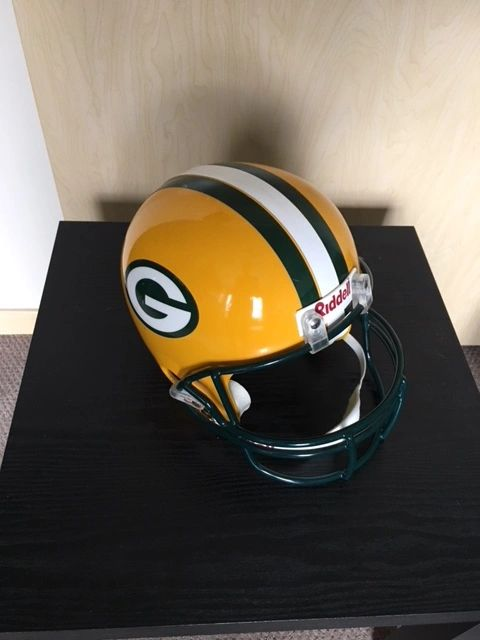 "{""blocks"":[{""key"":""e0upk"",""text"":""Win this Packers replica helmet - donated and apparently worn proudly by its previous owner - by doing a Lambeau Leap with any GB player after scoring a TD. "",""type"":""unstyled"",""depth"":0,""inlineStyleRanges"":[],""entityRanges"":[],""data"":{}},{""key"":""2eu36"",""text"":"""",""type"":""unstyled"",""depth"":0,""inlineStyleRanges"":[],""entityRanges"":[],""data"":{}},{""key"":""1umf9"",""text"":""(Have the scoring Packers' player finish in the stands above the end zone before the TD credits roll) "",""type"":""unstyled"",""depth"":0,""inlineStyleRanges"":[],""entityRanges"":[],""data"":{}}],""entityMap"":{}}"