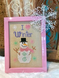 """I LOVE WINTER'"