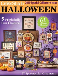 Coming in July 2019 - Just Cross Stitch Magazine's much anticipated HALLOWEEN PROJECT ISSUE!