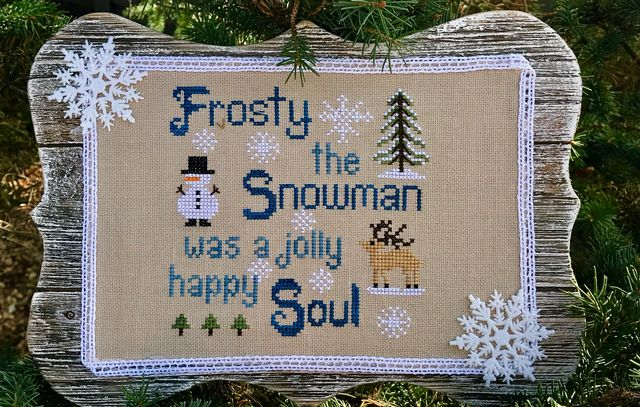 "New Release in November 2018 entitled ""FROSTY""."
