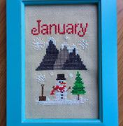 An entire year of cute monthly designs - all sized to fit perfectly in an off the shelf 4x6 frame!