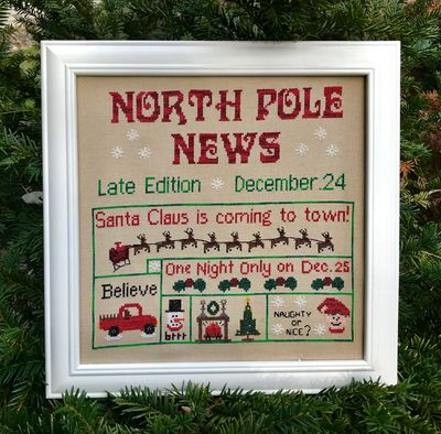 "Brand New! ""NORTH POLE NEWS"" lets you know everything important from the North Pole!"