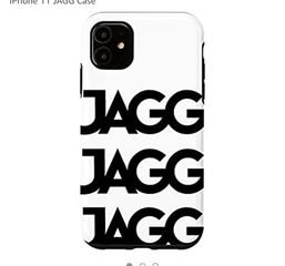 JAGG BLACK IPHONE CASE