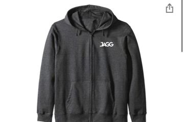 JAGG Zip Hoodie in multi colors