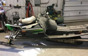 2005 Sabre Cat 600 CC ---parts only