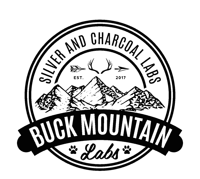 Buck Mountain Labs logo in Washington