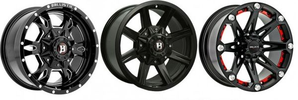 Wheels, Ballistic Off Road Wheels, Rhino Linings, truck and jeep accessories. Wheels and Tires