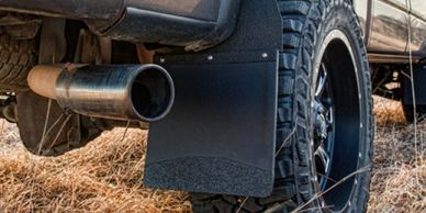 Mud Flaps, Hitch Mounted,Truck Accessories, Black, Rhino Linings, WeatherTech, Husky, Access, DeeZee