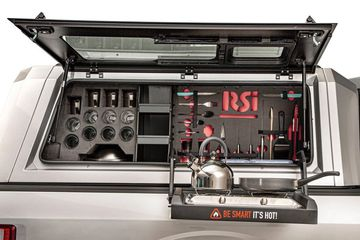 RSi SmartCaps. , Truck Caps, Truck Beds, Flat Bed, Tray, Rhino Linings of Bristol, Truck Accessories