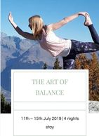 The art of balance