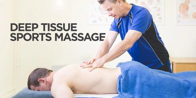 Sports massage, Deep tissue massage