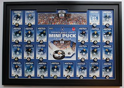 Hockey card framing
