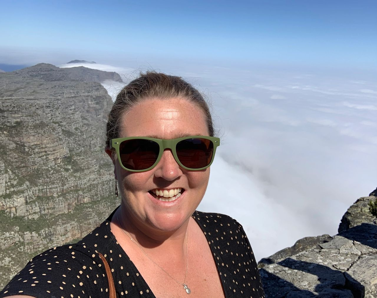 Table Mountain Cloudy Day