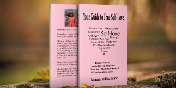 Self-help book for individuals who are on a journey to find true self-love and acceptance.
