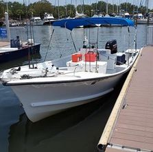 St Pete Fishing Charters Boat