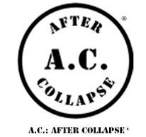 A.C.: AFTER COLLAPSE registered trademark circle logo and name