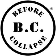 B.C.: BEFORE COLLAPSE® circle logo