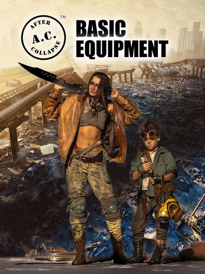 A.C.: AFTER COLLAPSE BASIC EQUIPMENT front cover