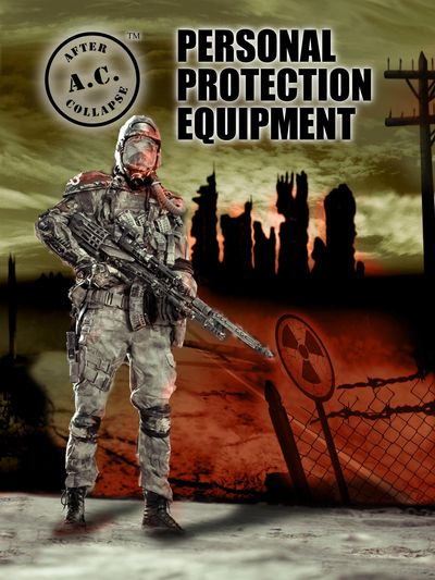 A.C.: AFTER COLLAPSE PERSONAL PROTECTION EQUIPMENT front cover