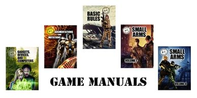 Game Manuals cover images and text