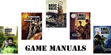 Game Manual cover images and text