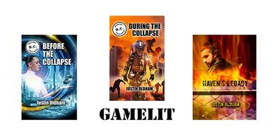 GameLit cover images and text