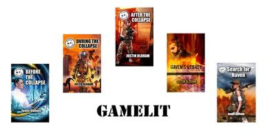 GameLit coers and text