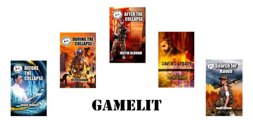 GameLit covers and text