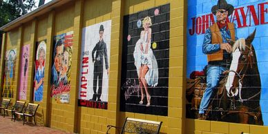 Loudon County TN Lyric Theater Murals