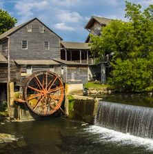The Old Mill in Pigeon Forge, TN.
