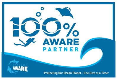 We donate a portion of everything you buy to Project AWARE