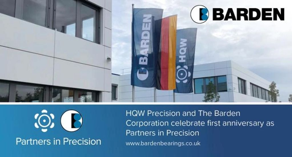 celebrating one year HQW Precision's acquisition of Barden & beginning  Partners in Precision