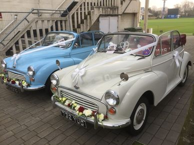 'Molly' & 'Maisy' our lovely Morris Minors